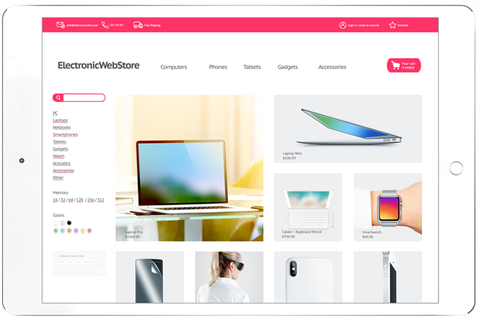 Online Store Development and Implementation Service